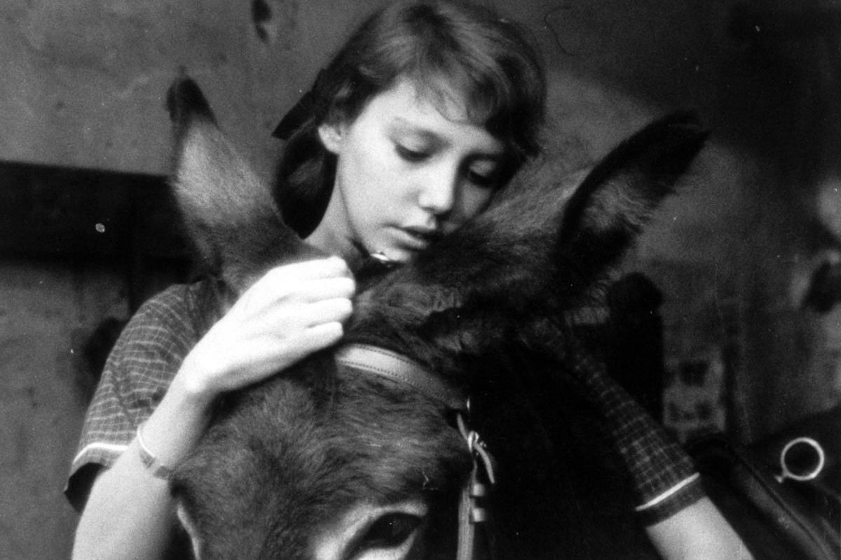 """Anne Wiazembsky as Marie in the 1966 French film """"Au Hasard Balthazar."""""""