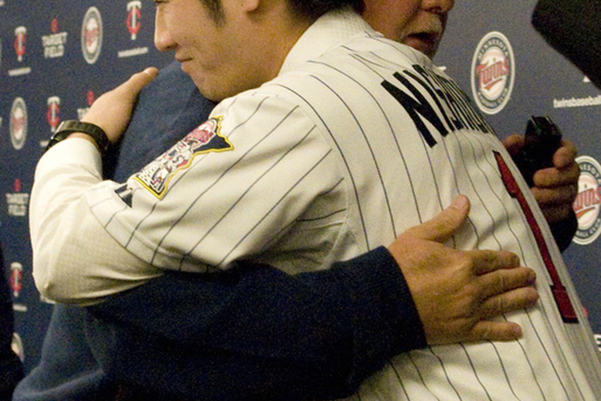 <strong>Gardenhire:</strong>  (<em>Whispering</em>)  I love you, Tsuyoshi Nickipunto.