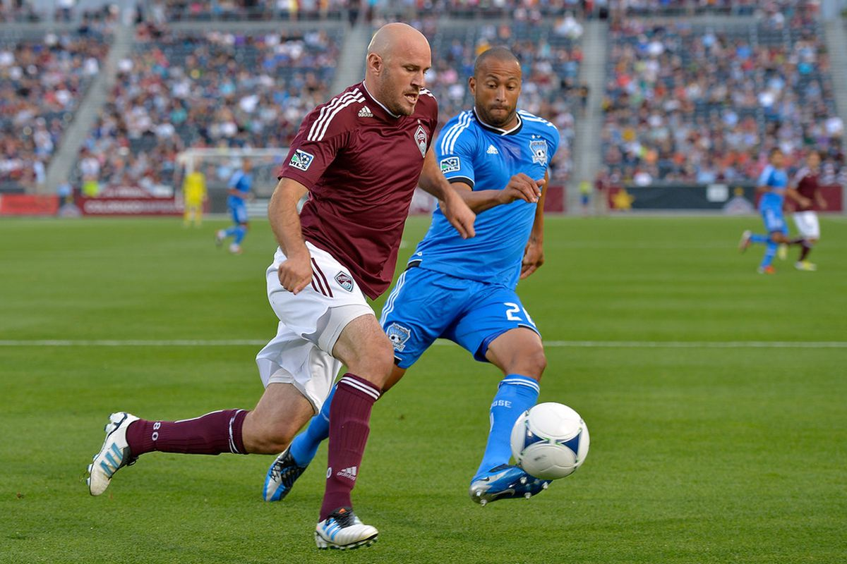 With Victor Bernaredez suspended for the Earthquakes upcoming match against the Colorado Rapids, who will step up to contain physical forward Conor Casey?