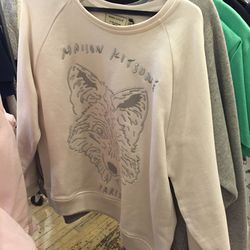 Embroidered fox sweater, $130 (was $335)