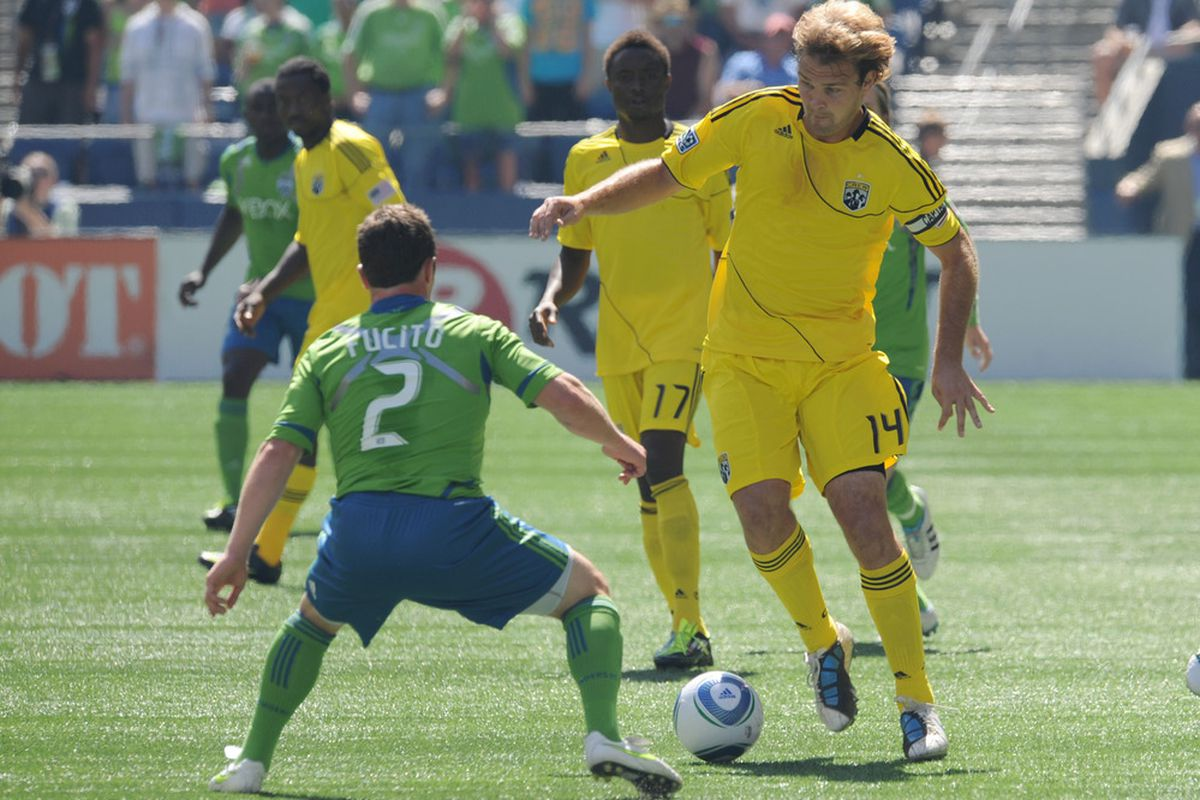 Yes, we expect Mike Fucito to start for the Seattle Sounders.