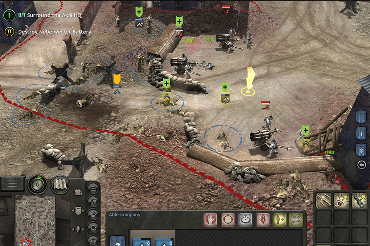 Company Of Heroes Ipad