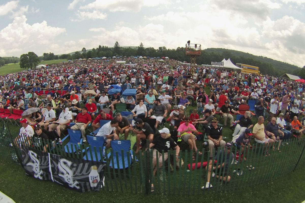 The Baseball Hall of Fame will plan for full capacity for lawn seating area at this year's induction ceremony.