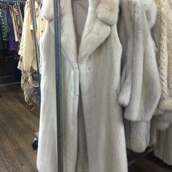 Fur coat, $1,500
