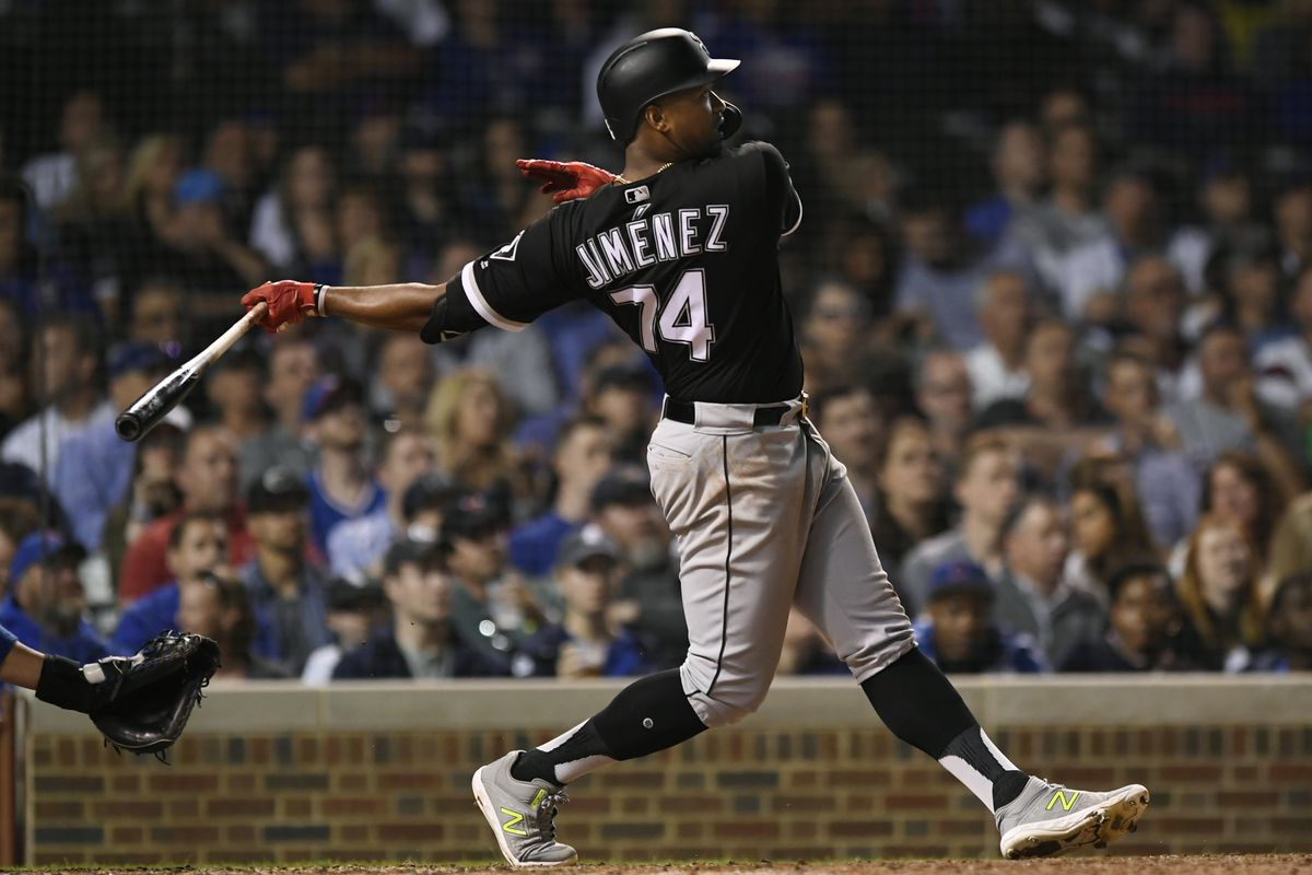 buy online f5b3b d89f2 Home Run Derby for White Sox' Eloy Jimenez might have to ...