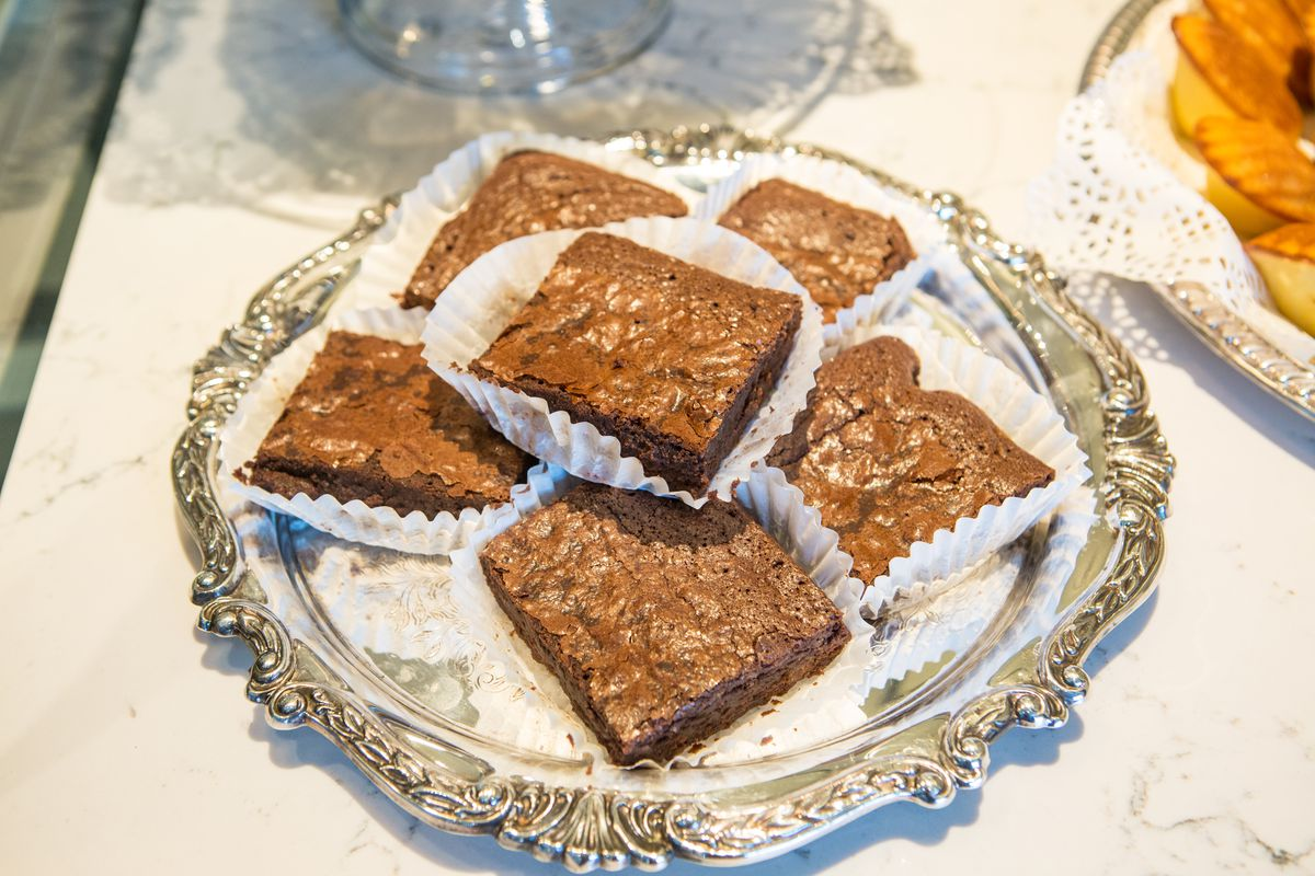 Brownies from Julie Myrtille Bakery