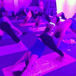 """<b><a href=""""http://www.aurapulse.com/aura-yoga-studio"""">AuraYoga</a></b> (8608 #A West Sunset Blvd): For those who enjoy rave-like exercise experiences but prefer not to fork out major cash for a trippy dance party at some secluded NorCal ranch, West Holly"""