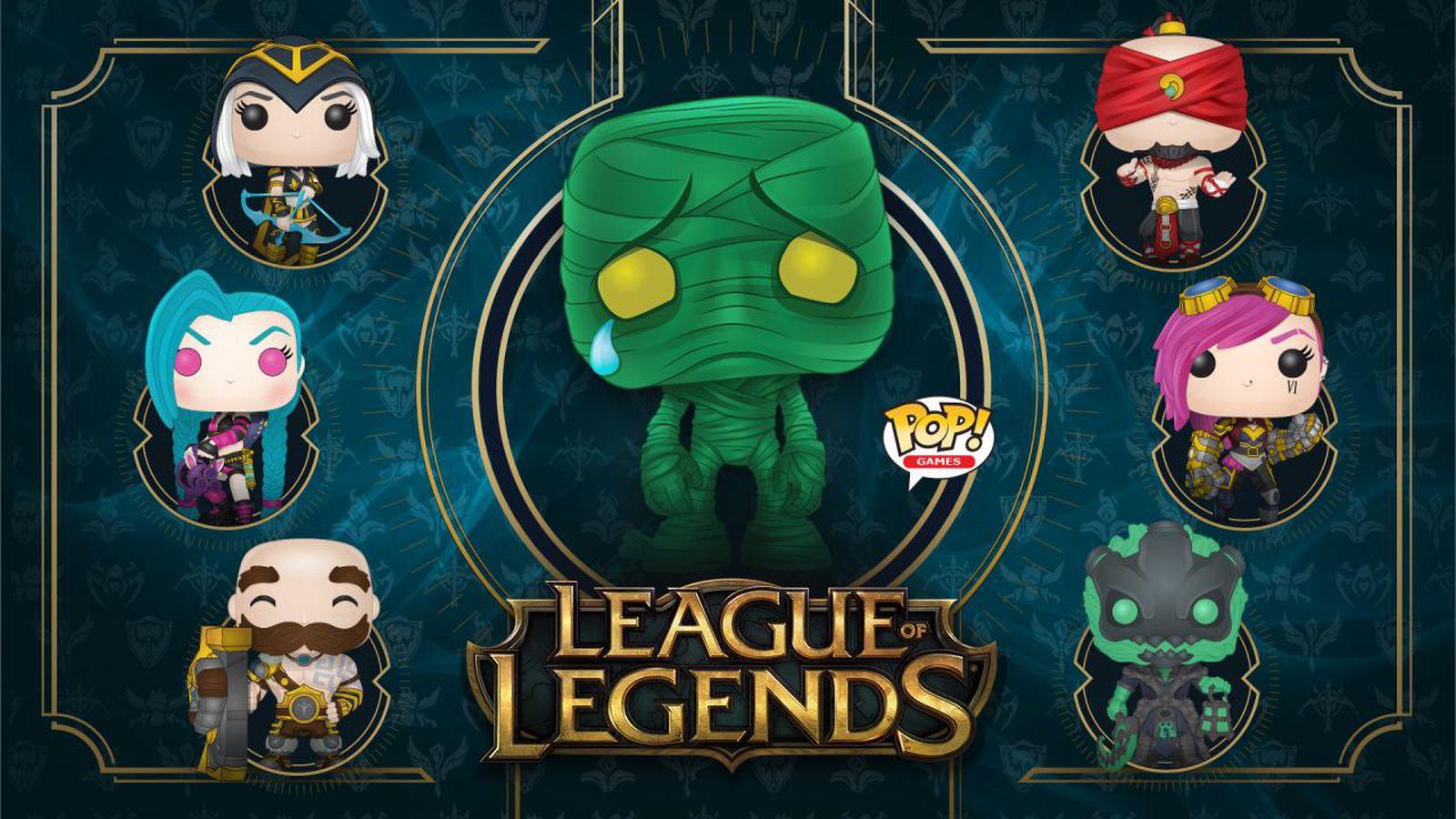 New League Of Legends Pop Vinyl Figures Include Jinx Vi