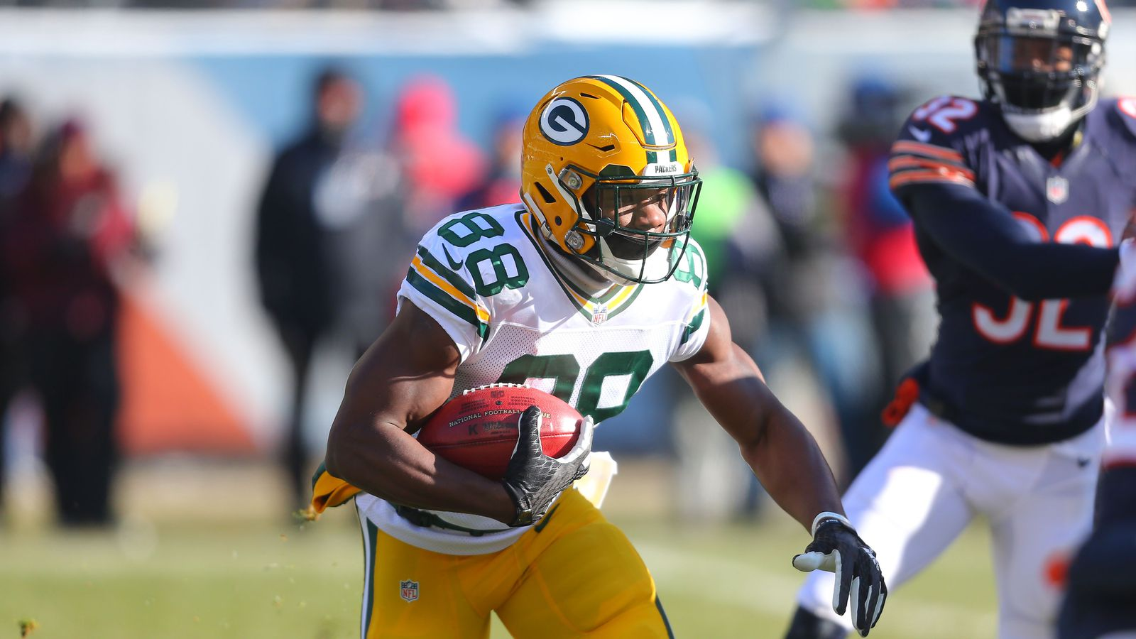 Get the latest news stats videos highlights and more about Green Bay Packers running back Ty Montgomery on ESPNcom