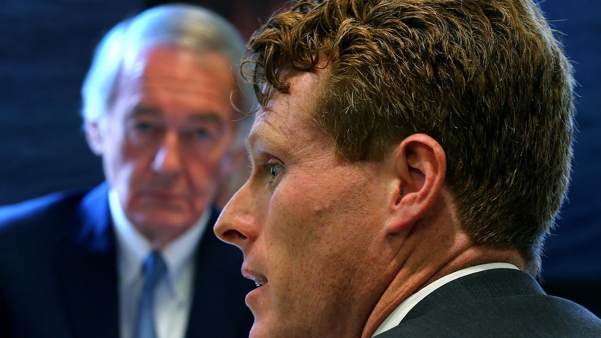 Sen. Ed Markey and Rep. Joseph Kennedy will face off in the November election.