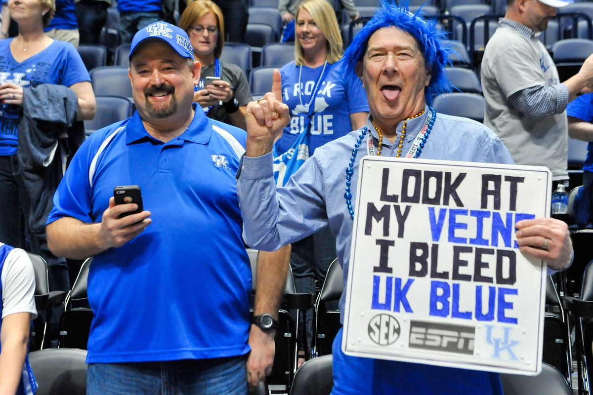 Kentucky Wildcats Tv Men S Basketball Blue White: Why Kentucky Sports Are Bigger Than Just A Game