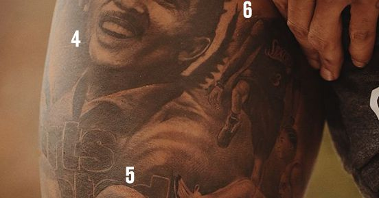 Odell Beckham Jr S Incredible Tattoo Features Malcolm X