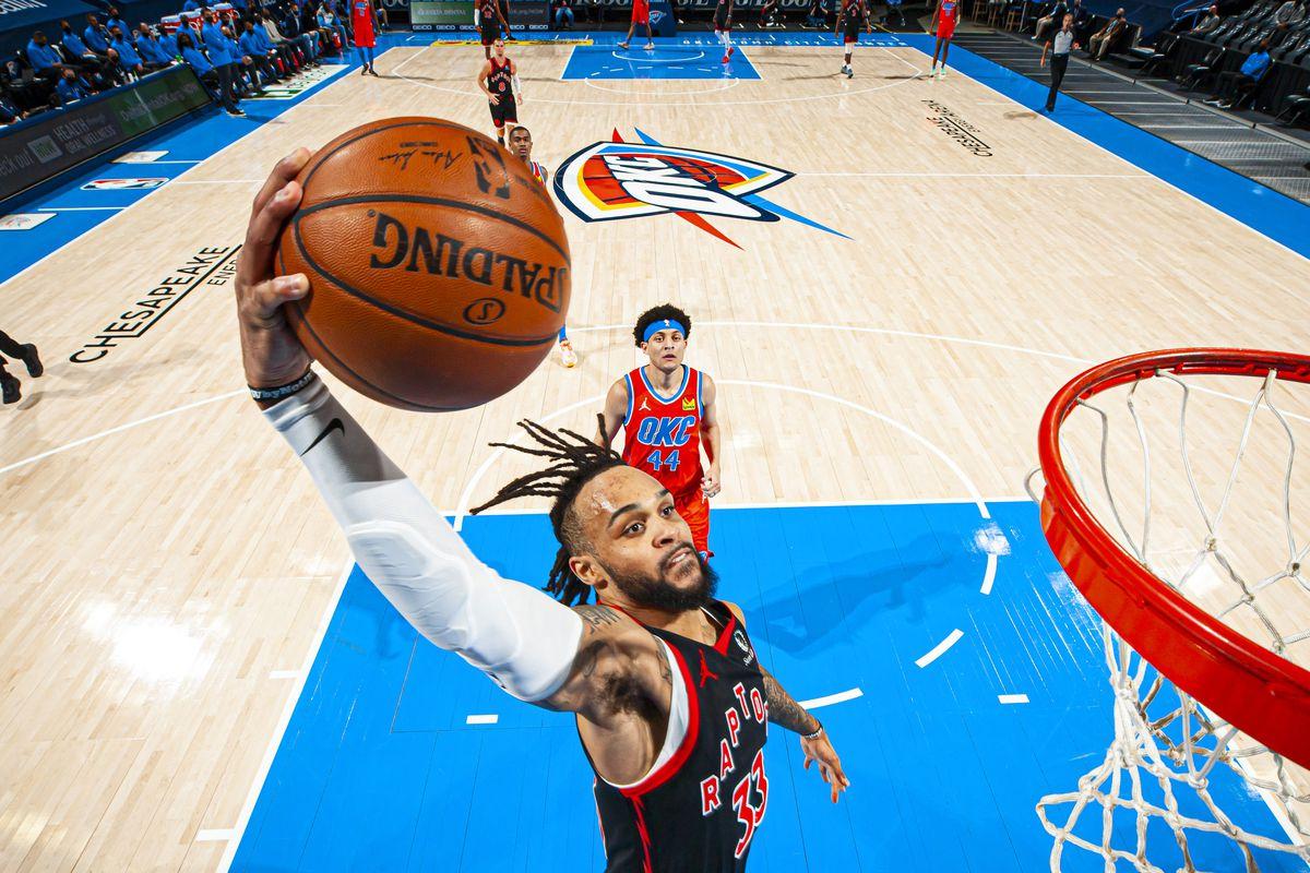 Five thoughts recap: Oklahoma City Thunder 113, Toronto Raptors 103