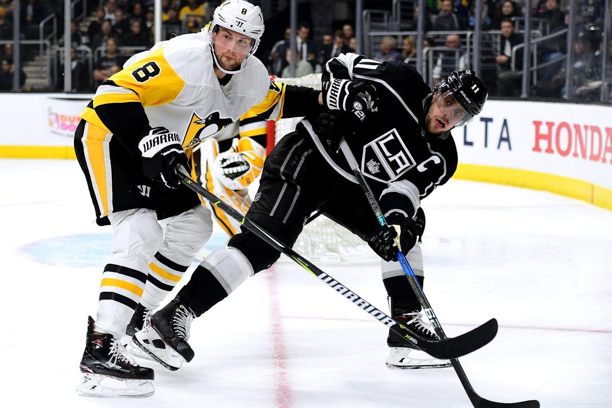 Pittsburgh Penguins v Los Angeles Kings