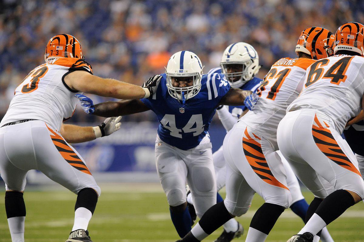 NFL: Preseason-Cincinnati Bengals at Indianapolis Colts
