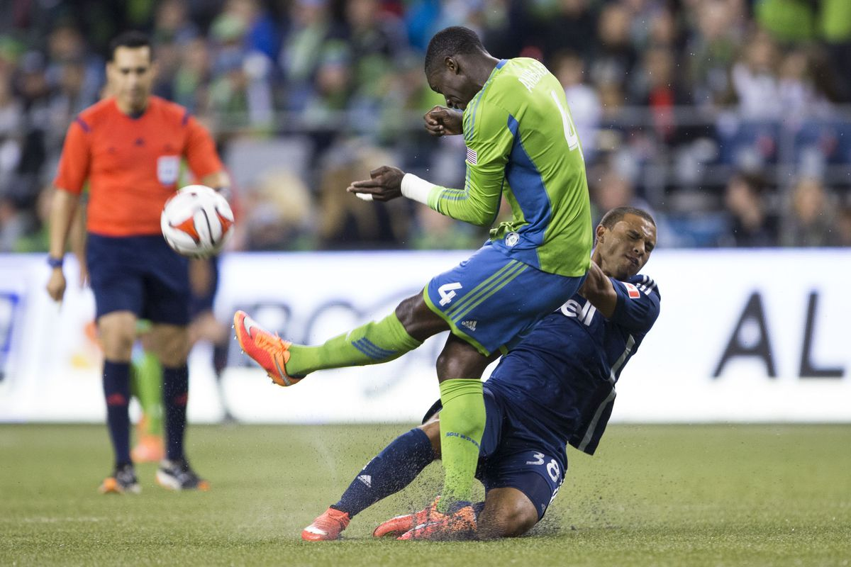 Kianz Froese with an impressive MLS debut down in Seattle