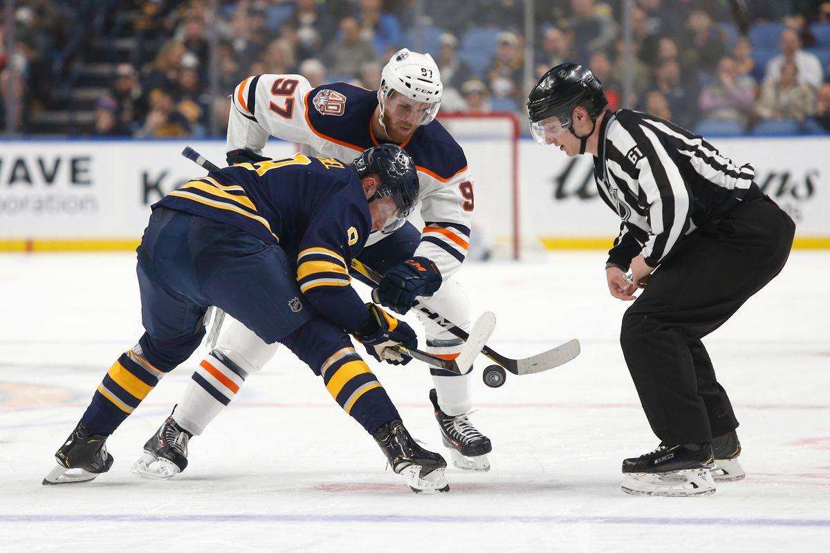 NHL: Edmonton Oilers at Buffalo Sabres