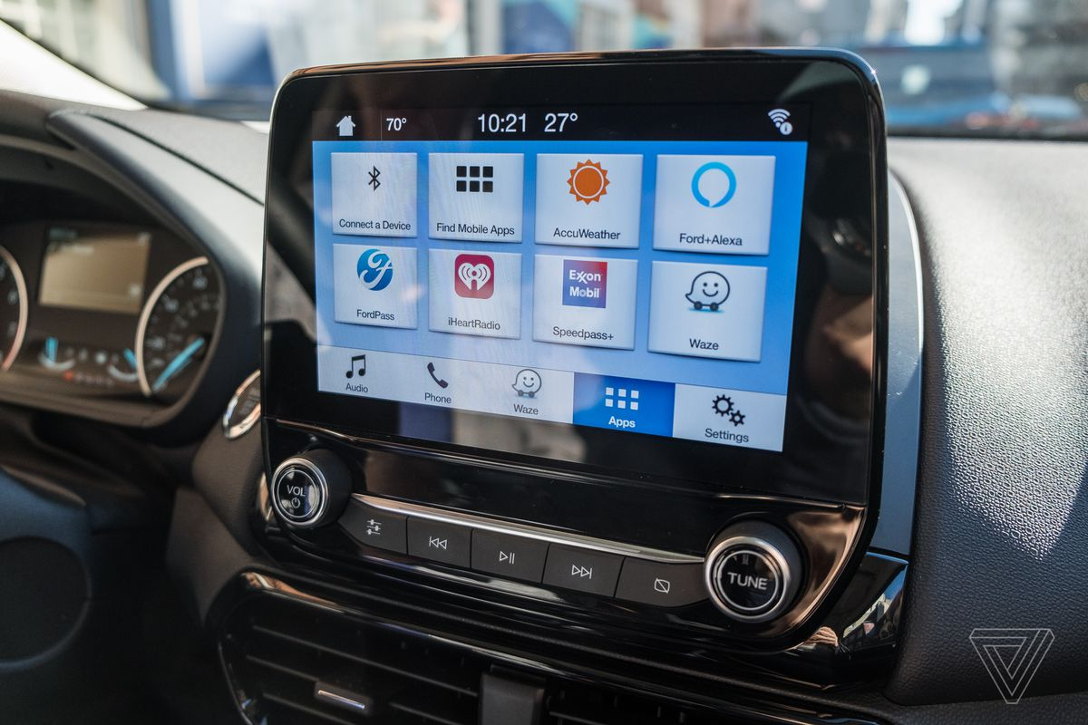 alexa  waze add depth  fords improving sync infotainment system  verge