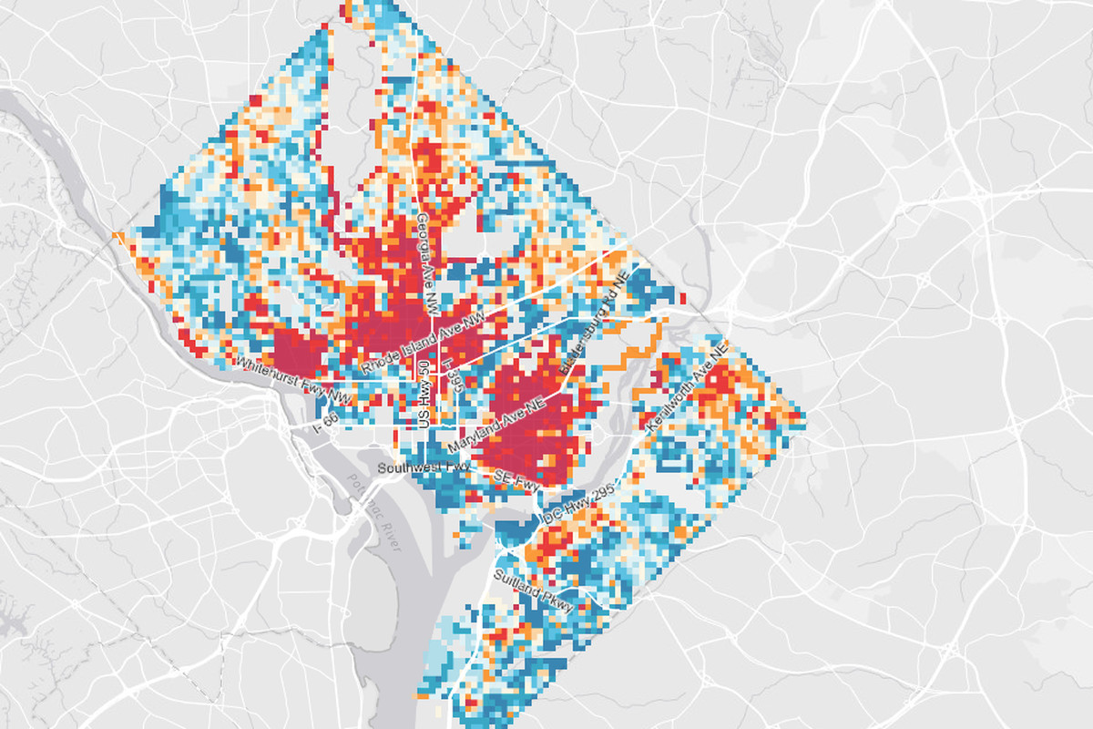 D.C.'s oldest buildings and most diverse architecture, mapped ... on