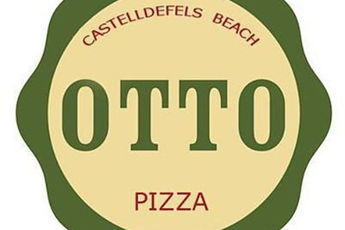 OTTO Pizza Castelldefels Beach, Spain.