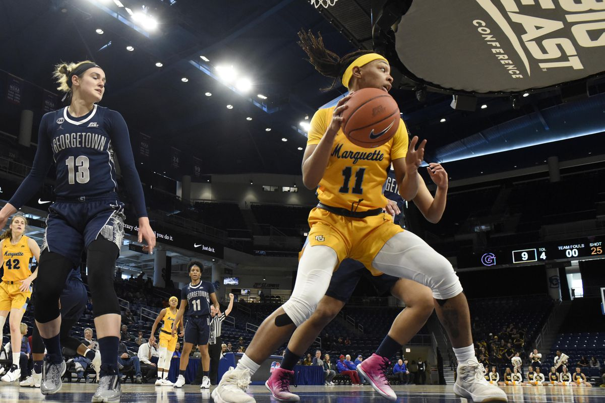 NCAA Womens Basketball: Big East Conference Tournament-Georgetown vs Marquette