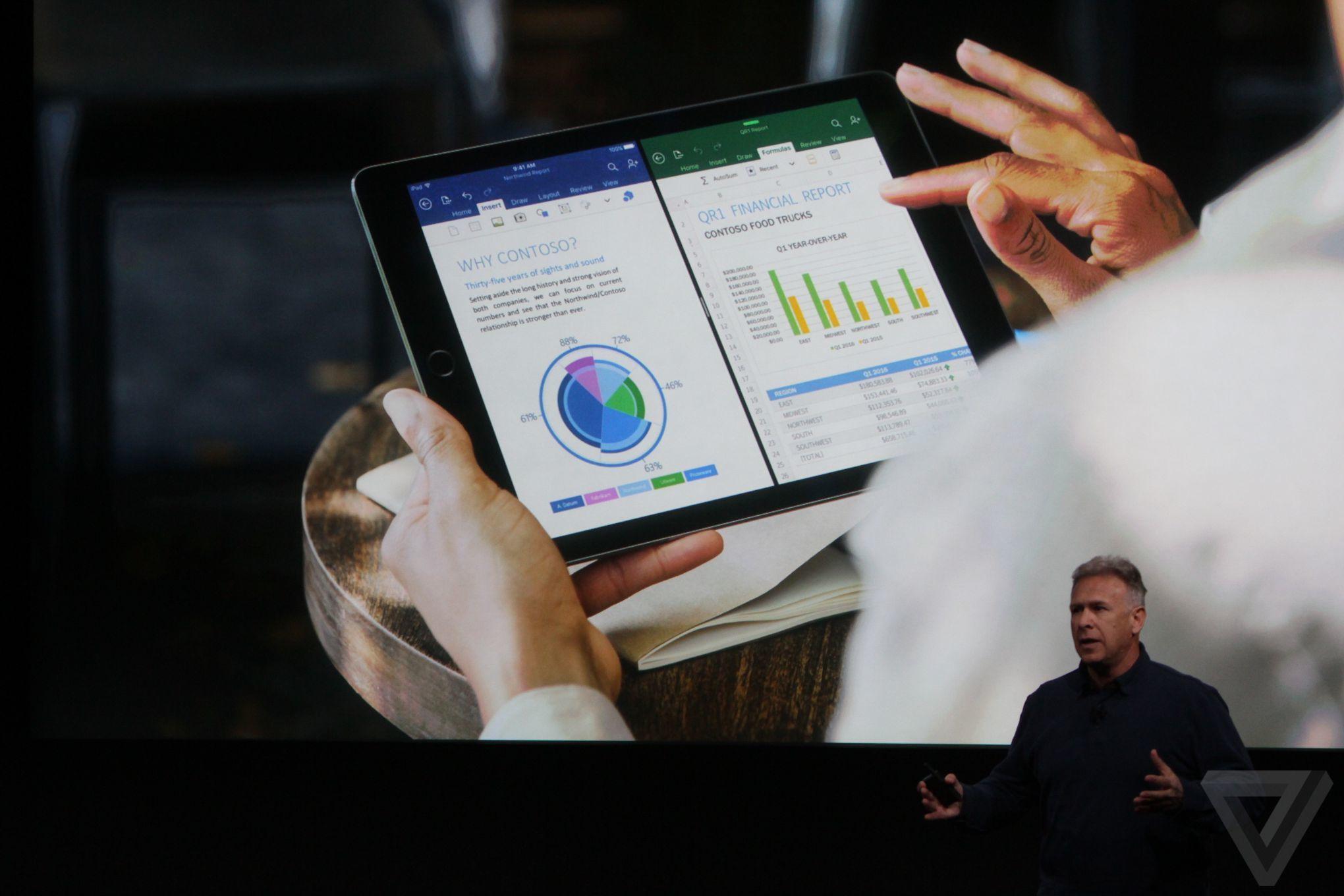 Apple 9.7-inch iPad Pro announcement photos