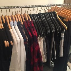 A selection of women's clothing