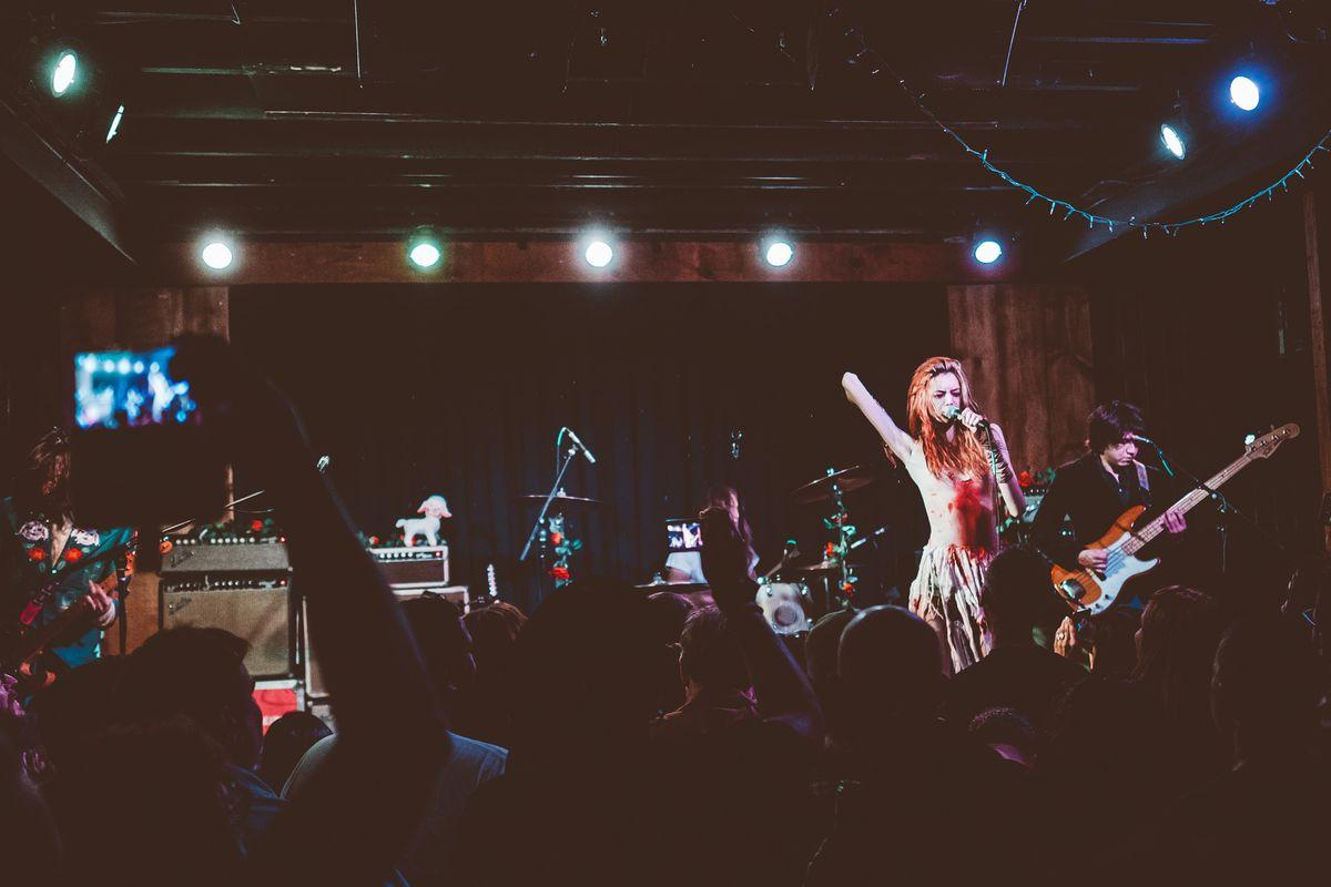 A concert at Barracuda