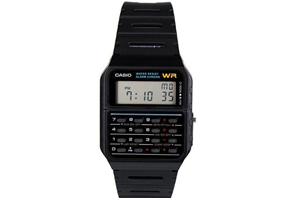 This Casio Calculator Watch Is Better Than Apple Watch According To