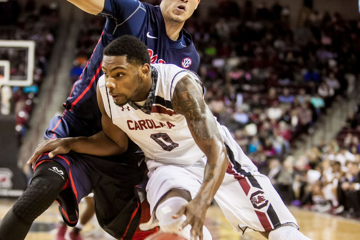 Sindarius Thornwell's 24 points came just one short of getting the Gamecocks past Ole Miss.