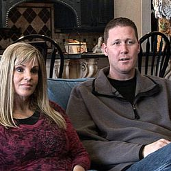 Former NBA player Shawn Bradley and his wife Annette speak to the media regarding their recent volunteer work in leper colonies in India with the organization, Rising Star Outreach.