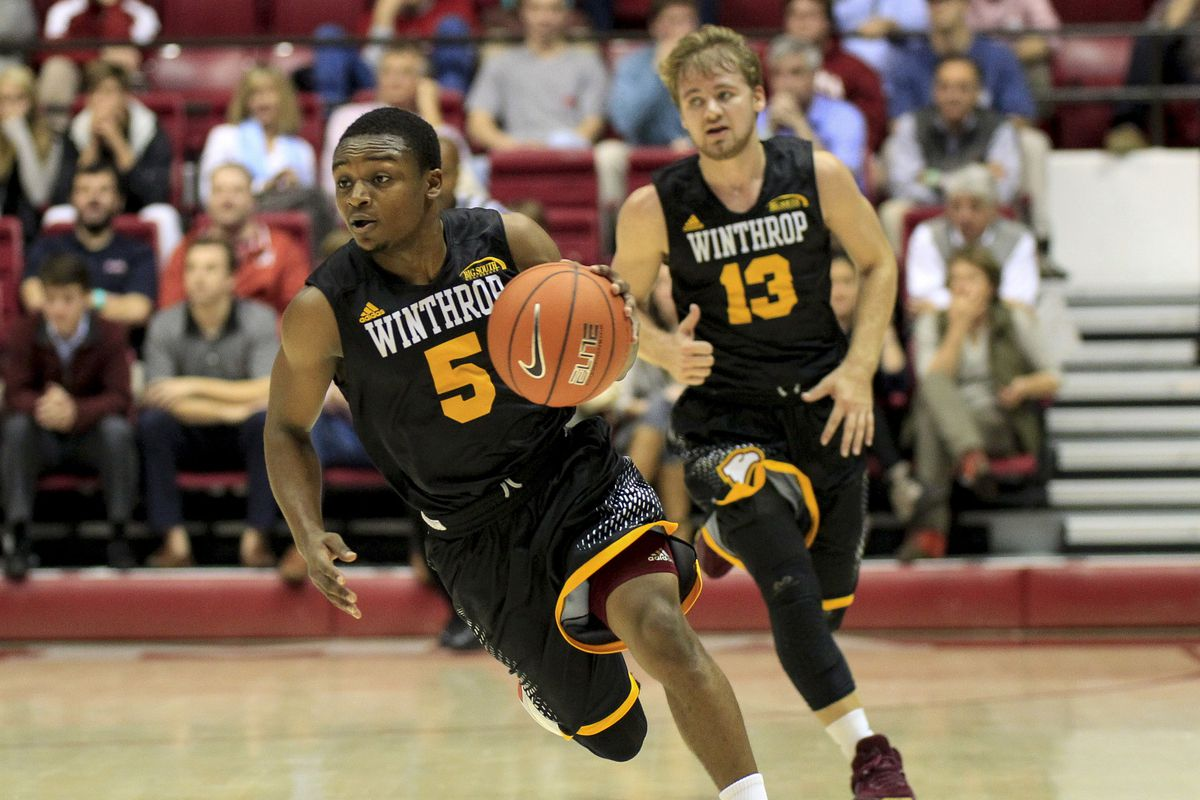 Winthrop's nickname is the Eagles.  I think we should cheer for them against the Bulldogs of UNC-Asheville.