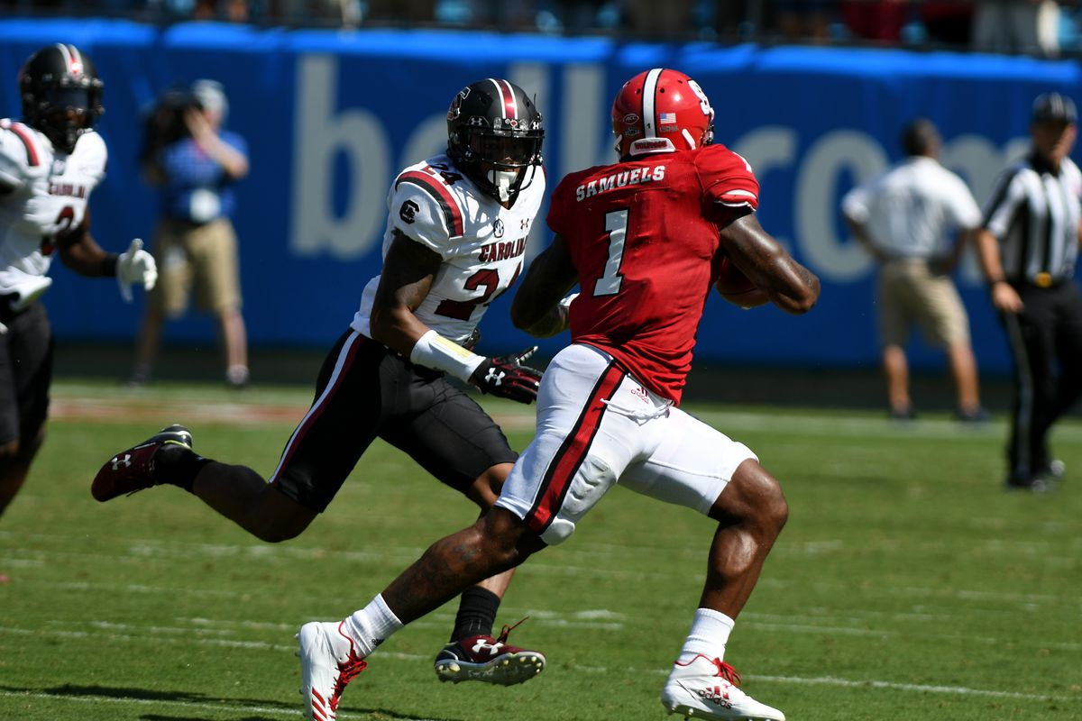 COLLEGE FOOTBALL: SEP 02 Belk College Kick Off Game - NC State v South Carolina