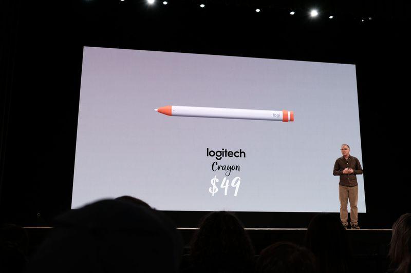 Стилус Logitech Crayon