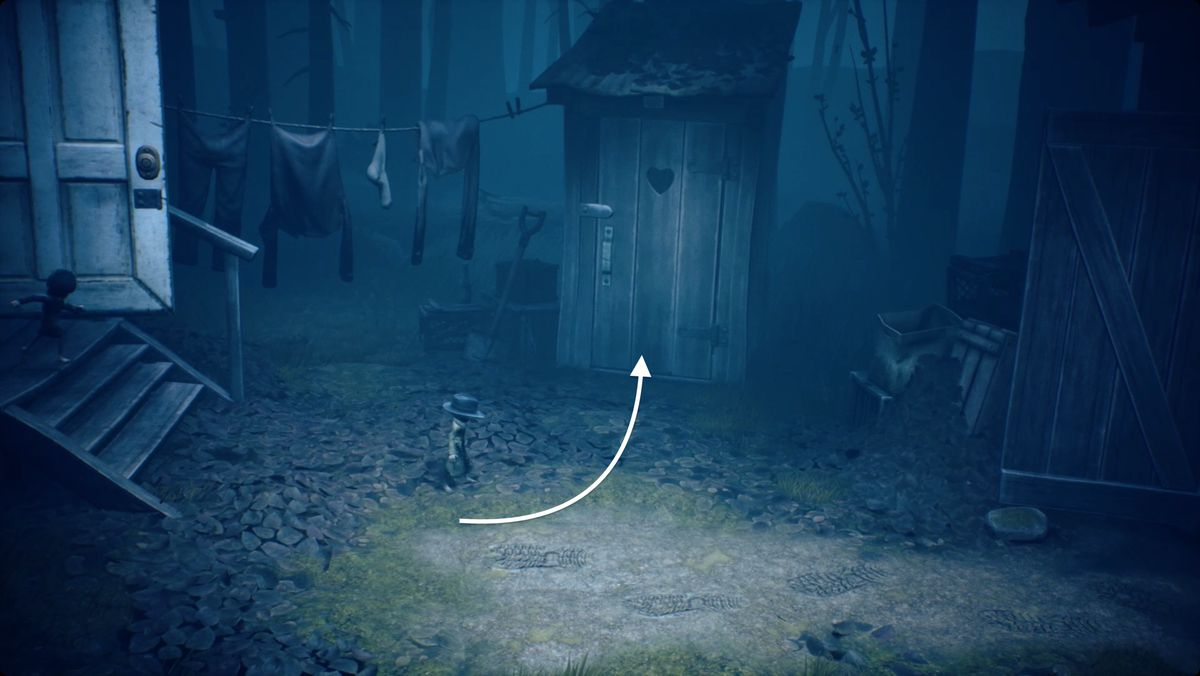 Little Nightmares 2 Glitching remains3