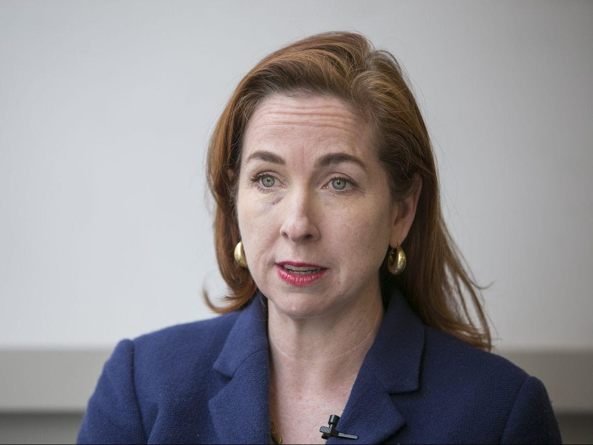 Cook County Board Commissioner Bridget Gainer has said she'll decide soon whether to run for mayor of Chicago. Rich Hein/Sun-Times