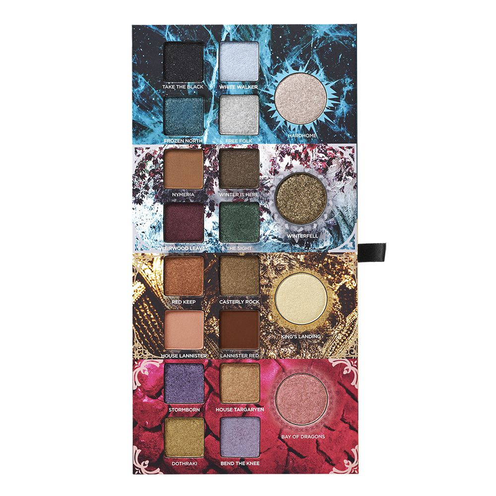 """This product image released by HBO shows Urban Decay's new makeup collection inspired by the HBO series """"Game of Thrones."""" 