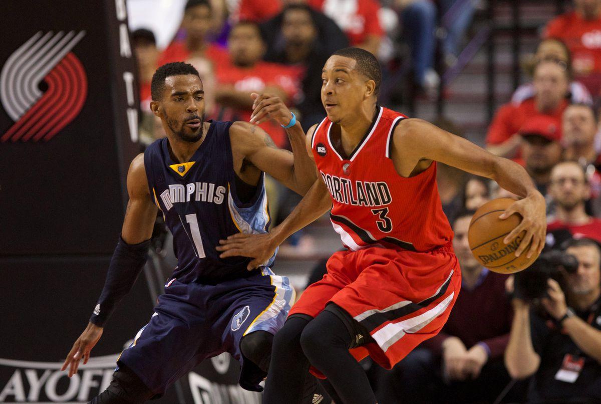 NBA: Playoffs-Memphis Grizzlies at Portland Trail Blazers
