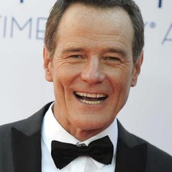 Actor Bryan Cranston arrives at the 64th Primetime Emmy Awards at the Nokia Theatre on Sunday, Sept. 23, 2012, in Los Angeles.