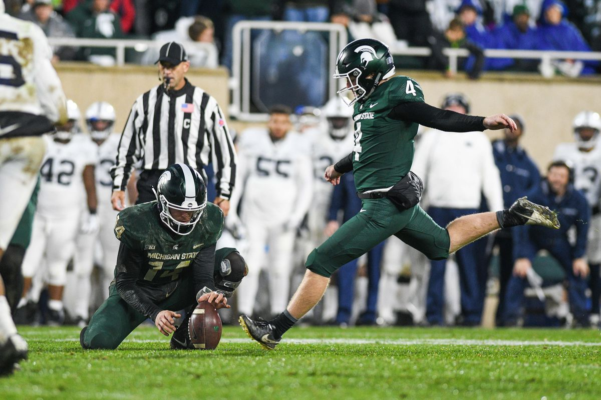 COLLEGE FOOTBALL: NOV 04 Penn State at Michigan State