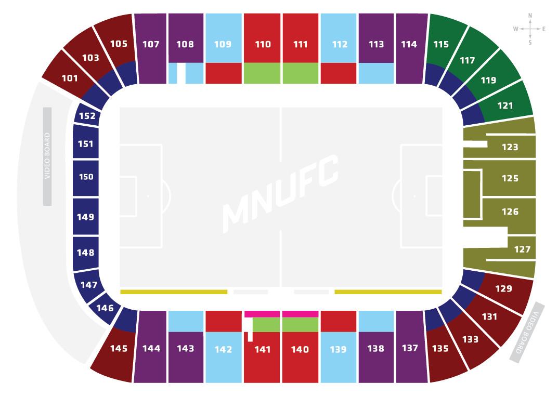 Views from your seats tcf bank stadium e pluribus loonum