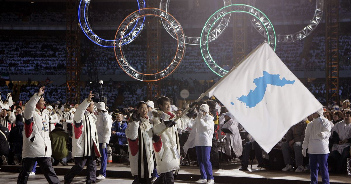 North and South Korea will march together under one flag at the Olympics