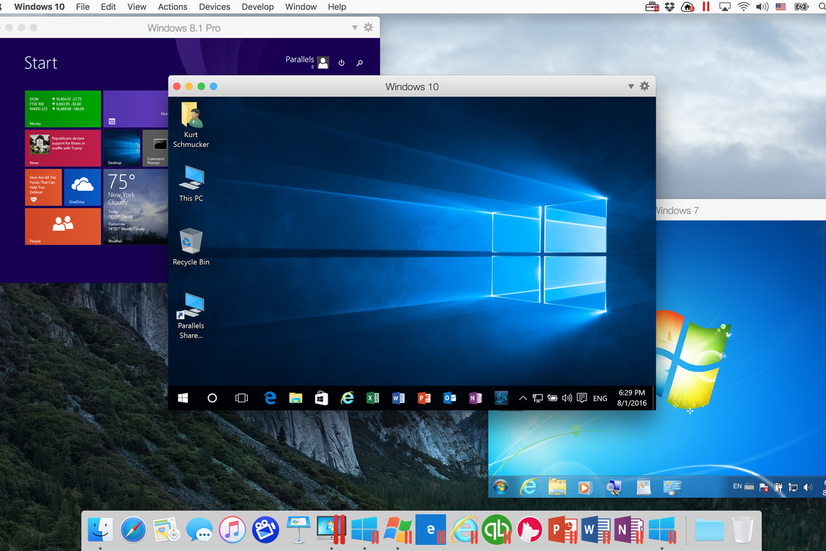 Mossberg: Running Windows 10 and macOS Sierra together - The Verge