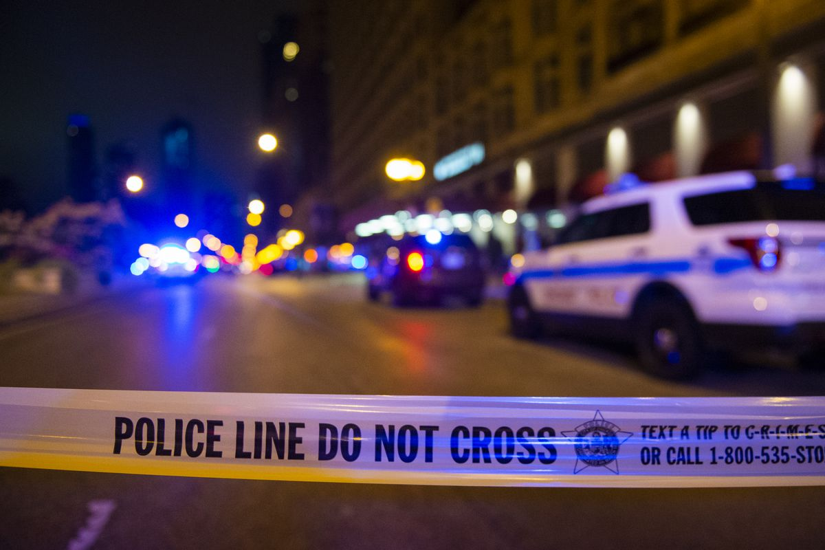A gun was fired in the air during the attempted carjacking of a BMW Feb. 20, 2020, in the 700 block of North Hudson Avenue in River North.