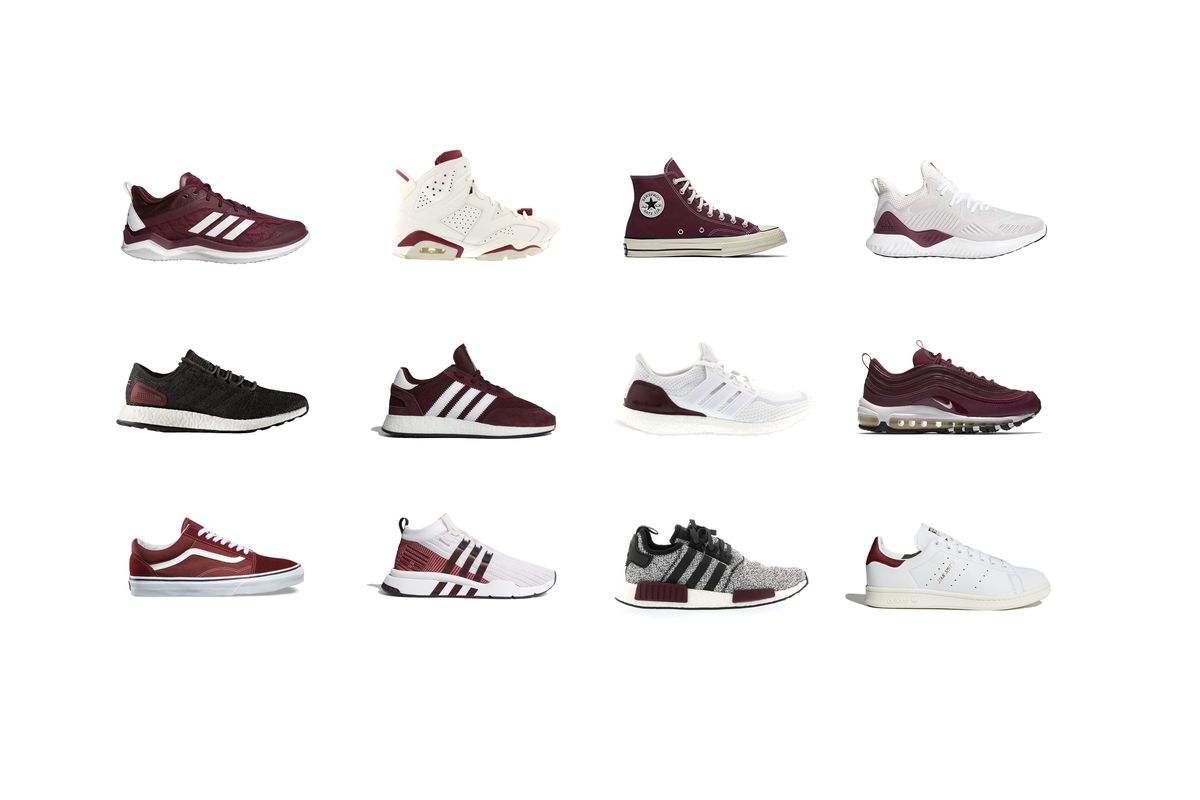 The top 12 maroon sneakers and shoes you need for Texas A&M