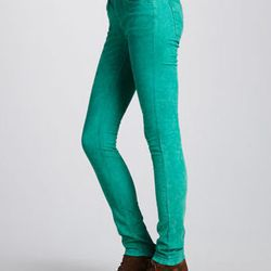"""<strong>Free People</strong> Skinny Cords at CUSP, <a href=""""http://www.cusp.com/store/catalog/prod.jhtml?itemId=prod930009&eItemId=prod930009&cmCat=search&searchType=SEARCH&parentId=&icid=&rte=%252Fsearch.jhtml%253FN%253D0%2526Ntt%253Demerald%2526_request"""