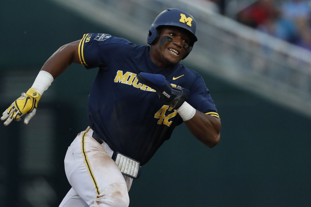 NCAA Baseball: College World Series-Florida State vs Michigan