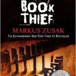 """""""Death is the narrator of this novel which takes place in Germany during World War II,"""" says Angie Granados. """"Nine-year-old Liesel Meminger is taken to live with a foster family in Molching, Germany. Zusak's writing captures your attention and emotions. T"""