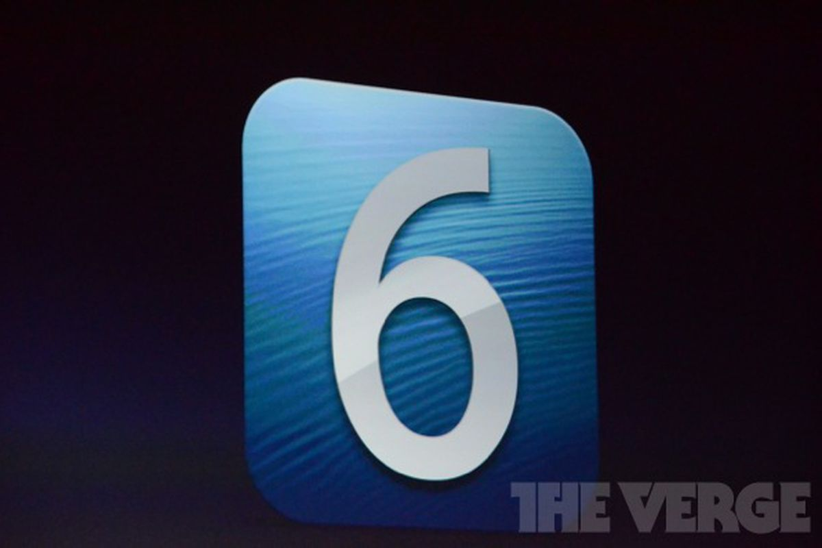 iOS 6 beta available to download today for developers - The Verge