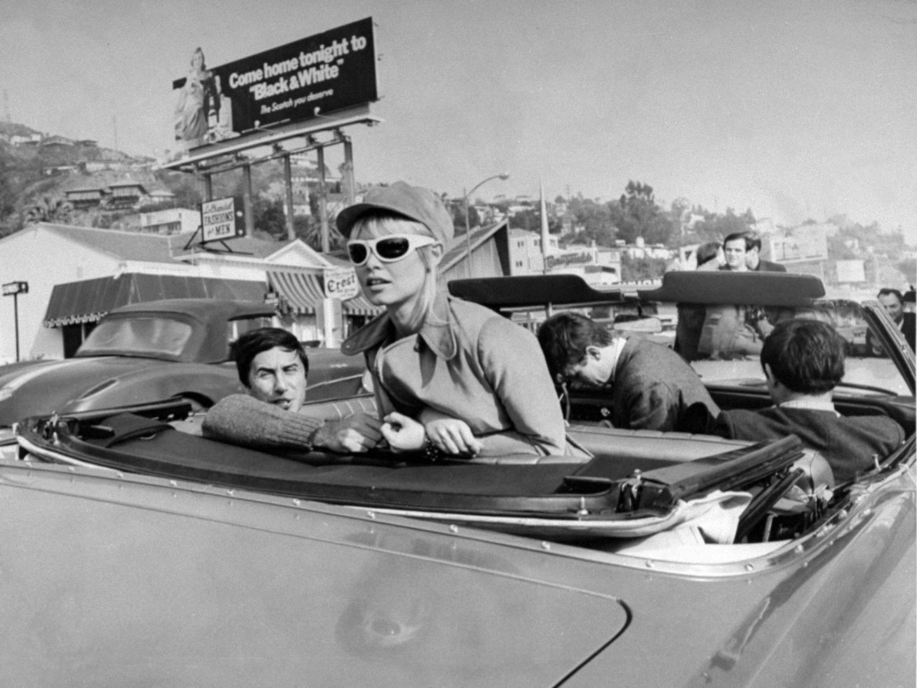 In the 1960s, Sunset Strip became a mecca for car cruising culture so loved by American teens.